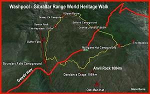 Washpool Gibraltar Range World Heritage Walk By Map And