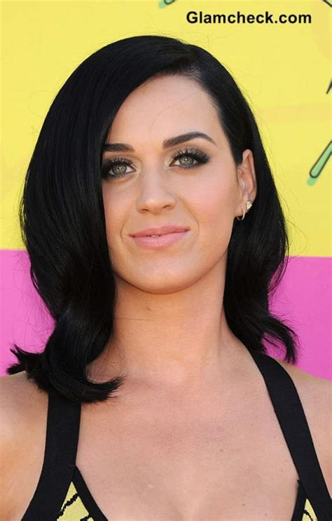 Black Colored Hairstyles by Katy Perry 2013 Hairstyles And Hair Color