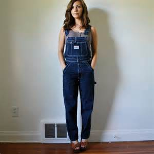 Girls Wearing Denim Overalls