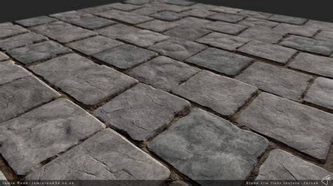 tile finishing my zbrush tiling texture looking for crits