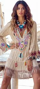 60 Of The Most Popular Spring Boho Outfit Ideas On Pinterest | Fringe dress Fashion spring and ...
