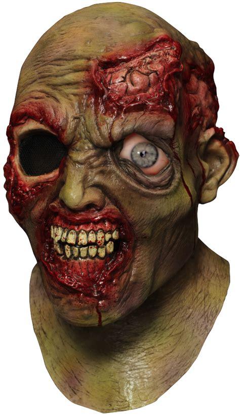 wandering eye zombie animated halloween mask