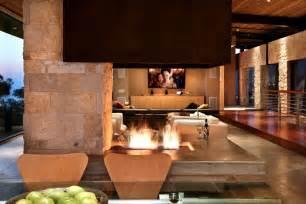 modern open fireplace interior design ideas
