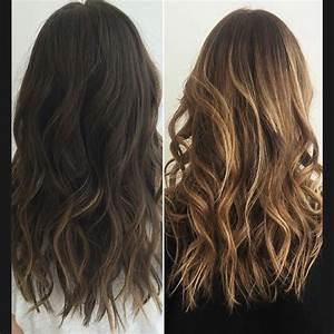 Brune Meche Caramel : quel balayage pour quelle couleur de base de cheveux ~ Melissatoandfro.com Idées de Décoration