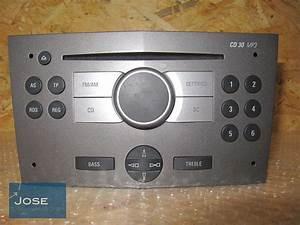 Autoradio Opel Astra H : original autoradio cd radio cd30 mp3 az opel astra h 2005 13154304 ebay ~ Maxctalentgroup.com Avis de Voitures