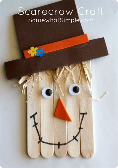 Scarecrow Craft  A Fun And Easy Art Project To Do With