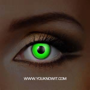 Halloween Contacts Walmart by Funky Green Uv Contact Lenses Rave Glow Contact Lenses