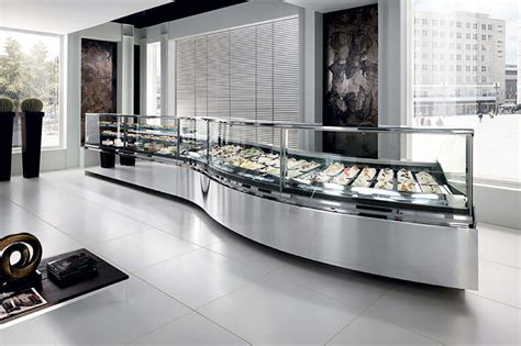 gelato ice cream display cases dipping cabinets