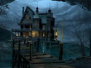 Free Gothic house Wallpaper