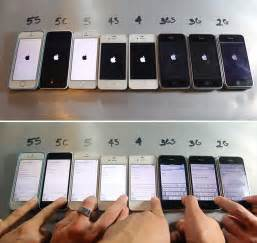 who made the iphone every iphone made side by side in core77