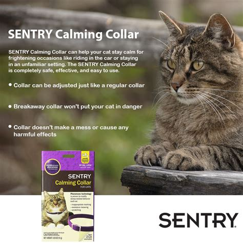 Sentry Calming Collar For Cats (3 Pack