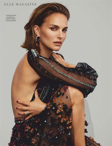 Natalie Portman Elle Magazine Spain December Issue