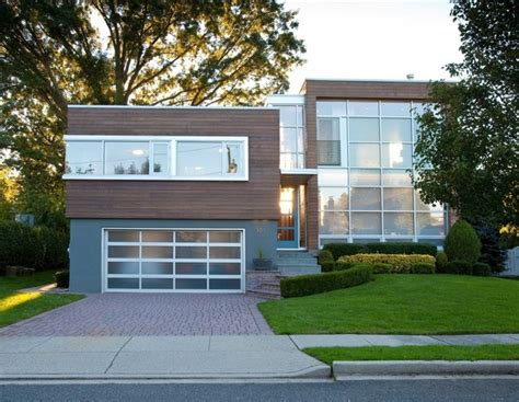 Kitchen Facelift Before And After by Split Level Conversion Modern Exterior New York By