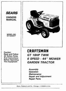 Sears Ss14 Garden Tractor Parts