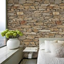 decorative stones for houses 2016 3d wallpaper waterproof coffee wall paper