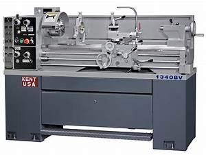 Kent 13 U0026quot  X 40 U0026quot  Manual Precision Lathe  Ssm-1340bv