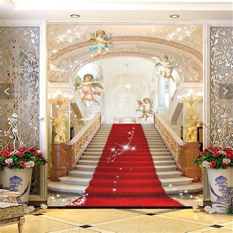 murals living room entrance mural wallpaper wedding