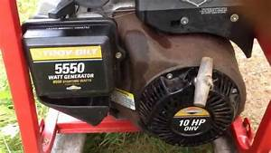 How To Start A Troy-bilt Generator