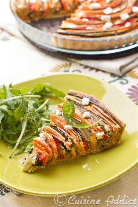cuisine addict com zucchini eggplant pepper carrot spiral tart cuisine