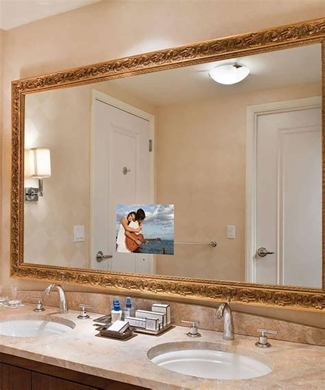 Large Framed Mirror For Bathroom by 20 Inspirations Large Framed Bathroom Wall Mirrors
