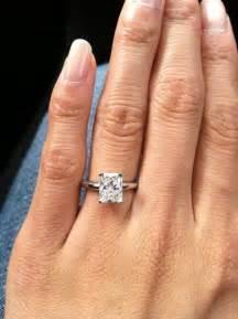 radiant engagement ring best 20 radiant cut ideas on radiant cut engagement rings radiant cut and