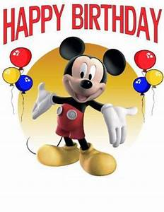 Happy Birthday Mickey Mouse : glitter graphics the community for graphics enthusiasts ~ A.2002-acura-tl-radio.info Haus und Dekorationen