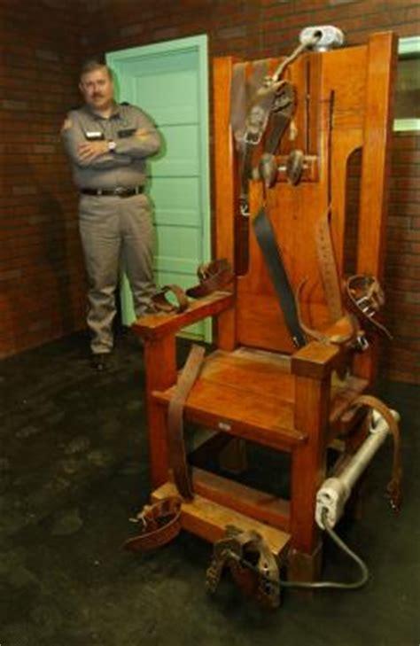 execution en direct chaise electrique de sur la chaise electrique de sur la chaise