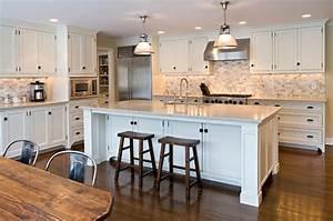 Ivory Kitchen Cabinets - Transitional - kitchen - Elissa