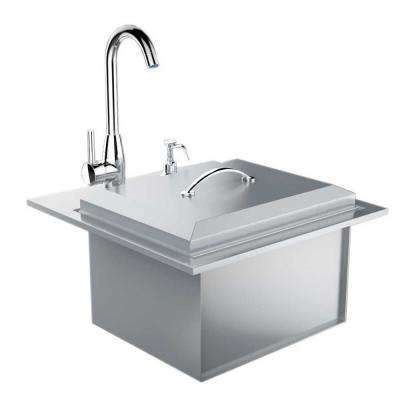 outdoor kitchen sink plumbing outdoor bars sinks outdoor kitchens the home depot 3869