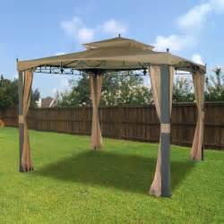 Hampton Bay Patio Umbrella by Hampton Bay Gazebo Replacement Canopy And Netting Garden Winds