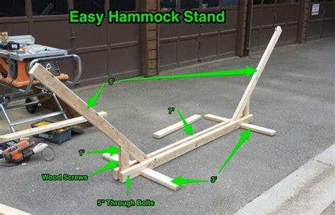 hammock stand  xs diy hammock hammock stand diy