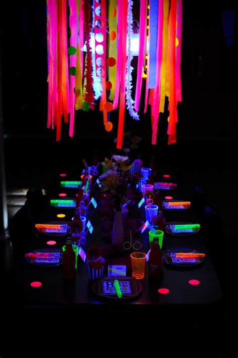 15+ Glow In The Dark Party Ideas!  B Lovely Events. Best Room Air Purifier. Tv Decorative Frame. Rooms For Rent In La. Ethan Allen Dining Room Set. Living Rooms For Sale. Decorative Glass Tile. Chic Home Decor. Room Additions