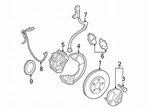 Ford Taurus Abs Wheel Speed Sensor  Front