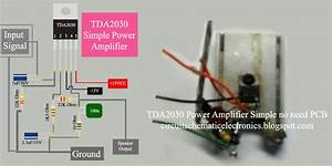 Simple Power Amplifier Using Ic Tda2030