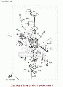 Yamaha Ttr225 Ttr225c 2003  3  Usa California Carburetor