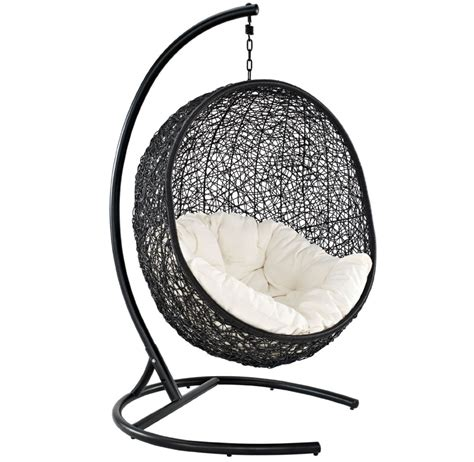 indoor swing chair for bedroom in precious colorful rope