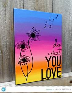 Add Color To Yo... Pretty Canvas Quotes