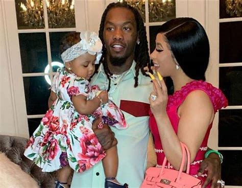 Cardi B and Offset's Daughter Says Dada and It's Adorable ...