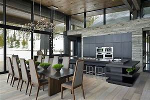 private luxury ski resort in montana by len cotsovolos With cuisine de luxe moderne