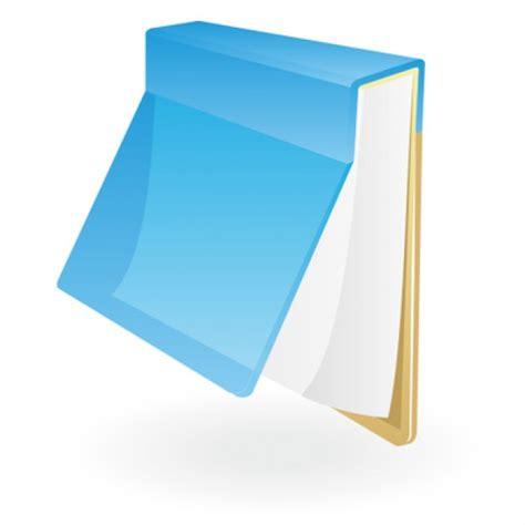 bloc notes bleu ic 244 ne illustration t 233 l 233 charger des vecteurs gratuitement