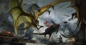godzilla verses king ghidorah Wallpaper and Background ...