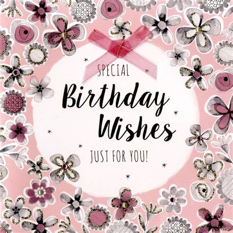 special birthday wishes greeting card cards