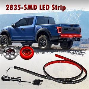 48 Inches Tailgate Strip Brake Reverse Tail Light Led Bar