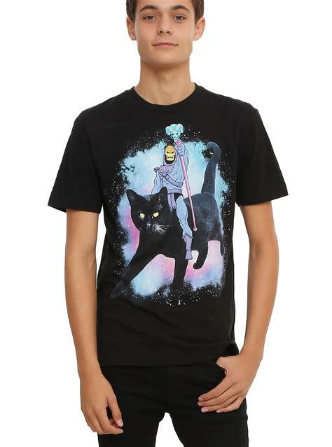 He-Man.org > Merchandising > Apparel - Shirts > Skeletor Cat T-Shirt