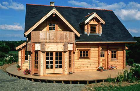 maison rondins de bois des maison en bois homeandgarden