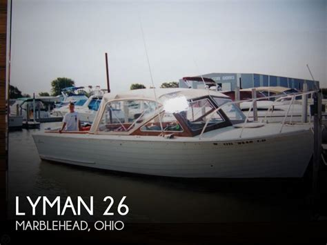 Boat Shop Marblehead by For Sale Used 1970 Lyman 26 In Marblehead Ohio Boats