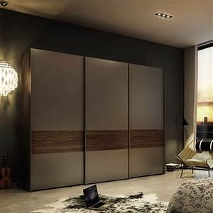 Modern Sliding Wardrobe Hpd433 - Sliding Door Wardrobes