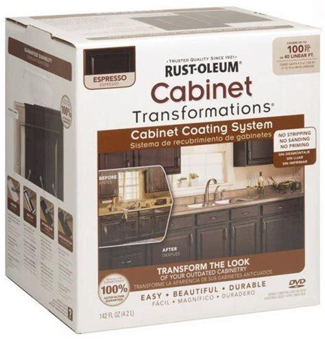rustoleum cabinet refinishing kit rust oleum cabinet refinishing kit maxwell s daily find