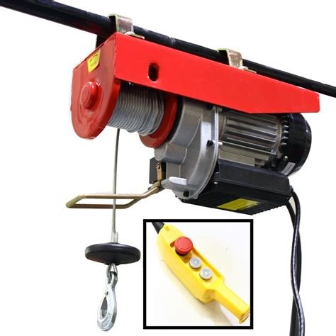 Electric Motor Lift by New Pro 1500 Lb Electric Motor Overhead Winch Hoist Crane