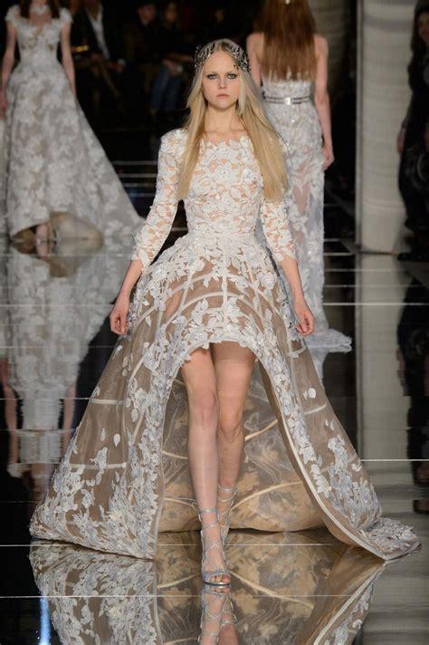 les plus belles robes de chambre mariage quand les robes haute couture nous inspirent